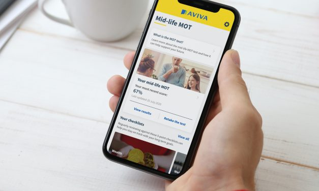 Aviva launch a new educational app – 'Mid-Life MOT'